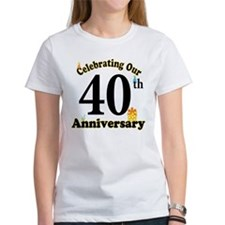 40th Anniversary Party Gift Tee
