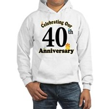 40th Anniversary Party Gift Hoodie