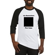 Your Picture Your Text Baseball Jersey