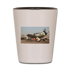 Plane 5 Shot Glass