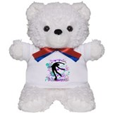 Figure Skater Spin Teddy Bear