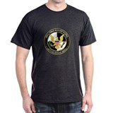 Border Security Minuteman Black T-Shirt