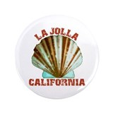 "La Jolla California 3.5"" Button"