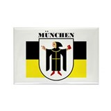 Munchen/Munich Rectangle Magnet (10 pack)