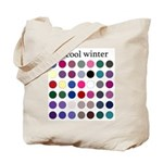 color analysis Tote Bag cool winter