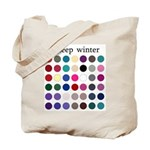 color analysis Tote Bag deep winter