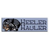 Heeler Hauler - Blue - Bumper Sticker