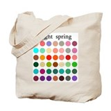 color analysis Tote Bag light spring