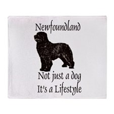 Newfoundlands It's A Lifestly Throw Blanket