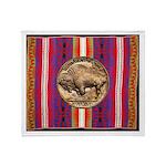 Indian Design-H2bb Throw Blanket