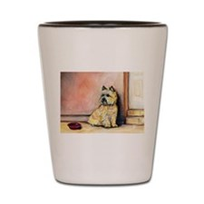 Cairn Terrier Painting Shot Glass
