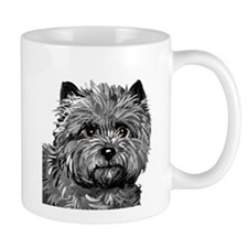 Cairn Terrier Toto Face Mug