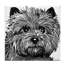 Cairn Terrier Toto Face Tile Coaster