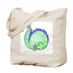 Somersault Dinosaur Tote Bag