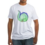 Somersault Dinosaur Fitted T-Shirt