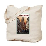 Munich Frauenkirche 2 Tote Bag