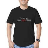 Trust me. I'm a D.O.CTOR. Fitted T-Shirt (dark)