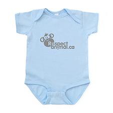 RESPECT ANIMAL LOGO - Infant Bodysuit