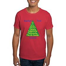Brazilian Food Pyramid T-Shirt