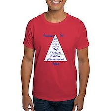 Pennsylvanian Food Pyramid T-Shirt