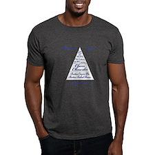 Boston Food Pyramid T-Shirt
