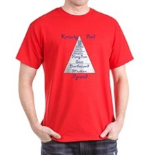 Kentucky Food Pyramid T-Shirt