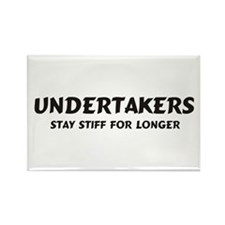 Undertakers Rectangle Magnet