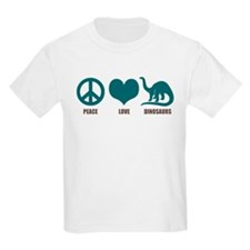 Peace Love Dinosaurs T-Shirt
