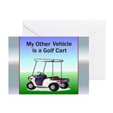 Golf cart Greeting Cards (Pk of 10)