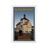 Bamberg Altes Rathaus Rectangle Magnet