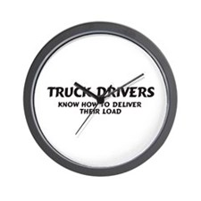 Truck Drivers Wall Clock