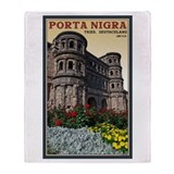 Trier Porta Nigra Throw Blanket