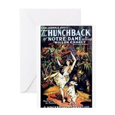 Hunchback of Notre Dame Greeting Card