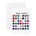 color analysis card deep winter