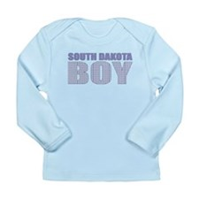 South Dakota Boy Long Sleeve Infant T-Shirt