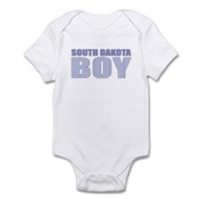 South Dakota Boy Infant Bodysuit