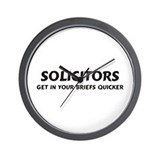 Solicitors Wall Clock