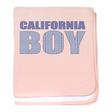 California Boy baby blanket