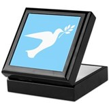 Peace Dove Keepsake Box
