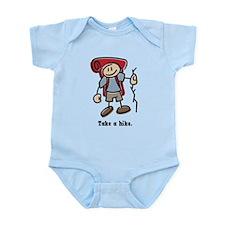 Cute Take a Hike Infant Bodysuit