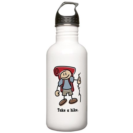Cute Take a Hike Stainless Water Bottle 1.0L