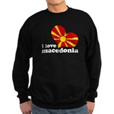 i love macedonia Jumper Sweater
