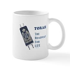 Torah Roadmap Jewish Small Mugs