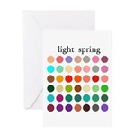 color analysis card light spring