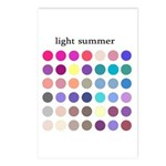 color analysis cards (Pack of 8) light summer