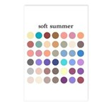 color analysis bags cards (Pack of 8) soft summer