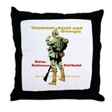 Endurance Strength Energy Throw Pillow