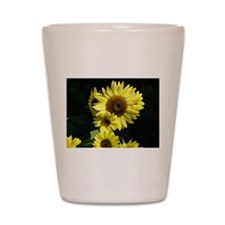 Sunflowers Floral Gifts Shot Glass