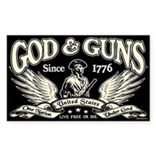 God & Guns Decal