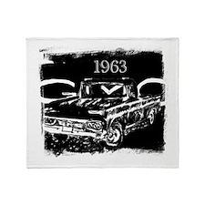 1963 GMC Throw Blanket